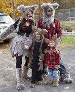 The Werewolf Family Homemade Costume