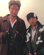 The Wet Bandits Couple's Costume