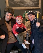 The Wet Bandits and Kevin Homemade Costume