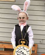 The White Rabbit Homemade Costume