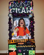 The Wicked Claw Machine Homemade Costume