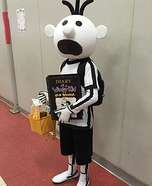 The Wimpy Kid Homemade Costume