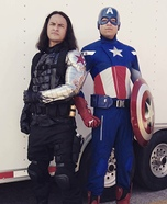 The Winter Soldier and Captain America Homemade Costume