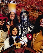 The Wizard of Oz Family Costume