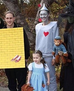 The Wizard of Oz Homemade Costume