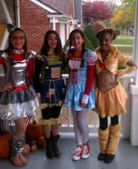 Group costume ideas - The Wizard of Oz Halloween Costumes