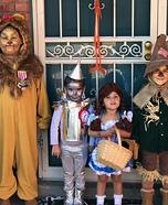 The Wizard of Oz Crew Homemade Costume