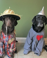 The Wizard of Oz Dogs Homemade Costume