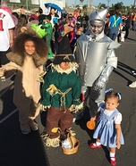 The Wizard of Oz Kids Homemade Costume