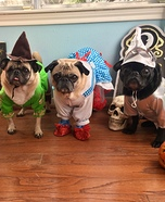 The Wizard of Oz Pugs Homemade Costume