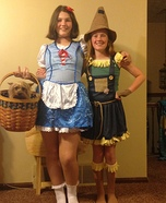 The Wizard of Oz Rocking Couple Homemade Costume