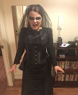 The Woman in Black Homemade Costume