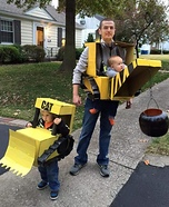 The Wrecking Crew Homemade Costume