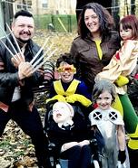 The X-Men Family Homemade Costume
