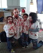 The Zombie Clan Homemade Costume