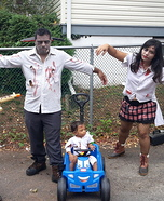 The Zombie Family Homemade Costume
