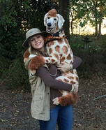 The ZooKeeper and her Giraffe Homemade Costume