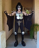 The Demon aka Gene Simmons of the band KISS