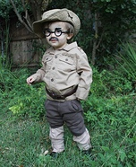 Theodore Roosevelt Homemade Costume
