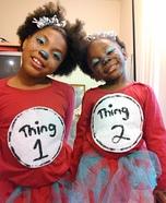 Thing 1 &Thing 2 Homemade Costume