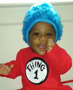 Thing 1 Baby Costume