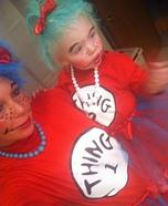 Thing 1 & Thing 2 Homemade Costume