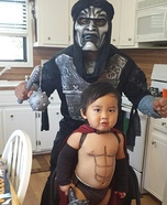 Leonidas and  Spartan Warrior Costume