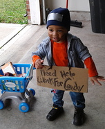 This Kid Loves Candy Homemade Costume