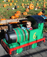 Thomas and Friends Percy Homemade Costume