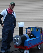 Thomas & Friends Homemade Costume