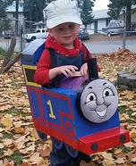 Thomas the Boy Homemade Costume