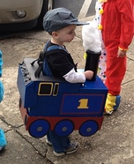 Thomas the Tank Engine DIY Costume