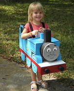 Thomas the Tank Engine Costume DIY