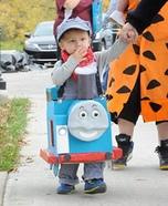 Thomas the Tank Engine Homemade Costume