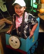 Thomas the Train Homemade Costume