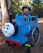 Thomas the Train Wheelchair Costume