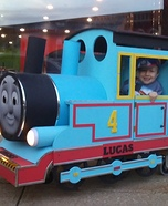 Creative DIY Thomas the Train Costume