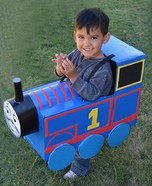 Thomas the Train Homemade Costume