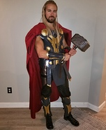 Thor Homemade Costume