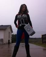 Thor Girl Homemade Costume