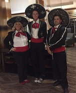 Three Amigos Homemade Costume