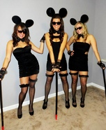 Three Blind Mice Group Costume