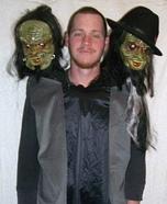 3 Headed Man Costume