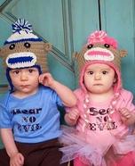Three Little Monkeys Homemade Costume