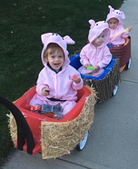 Three Little Pigs Homemade Costume