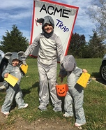 Three Mice Homemade Costume
