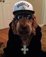 Thug Dog Homemade Costume