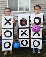 Tic Tac Toe Group Costume