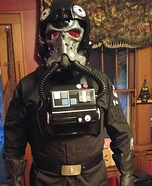 TIE Pilot from Hell Homemade Costume