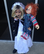 Tiffany the Bride of Chucky Homemade Costume